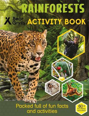 Bear Grylls Sticker Activity: Rainforest by Bear Grylls