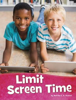 Limit Screen Time book
