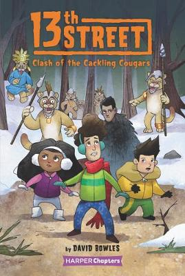 13th Street #3: Clash of the Cackling Cougars by David Bowles