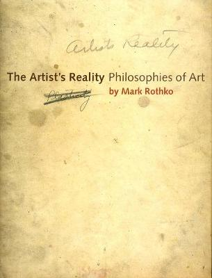 Artist's Reality book