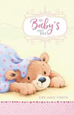 KJV Baby's First Bible, Hardcover, Pink by Zonderkidz