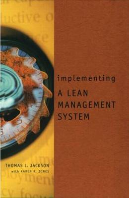 Implementing a Lean Management System book