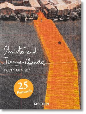 Christo and Jeanne-Claude. Postcard Set by Christo & Jeanne-Claude