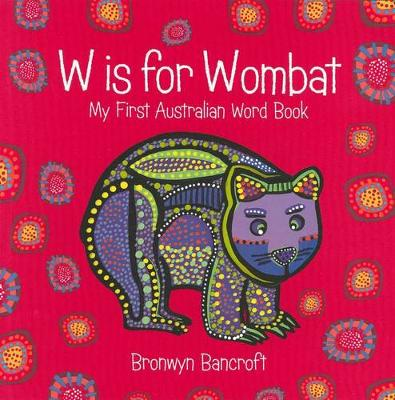 W is for Wombat book