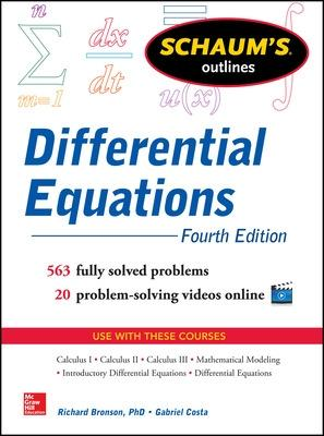 Schaum's Outline of Differential Equations by Richard Bronson
