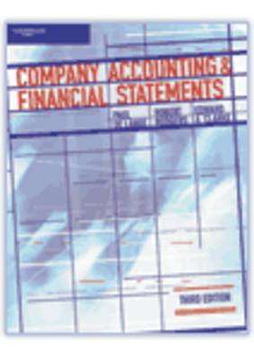 Company Accounting and Financial Statements by Paul De Lange