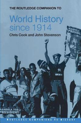 Routledge Companion to World History since 1914 book