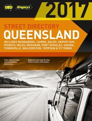 Queensland Street Directory 21st ed by UBD Gregorys