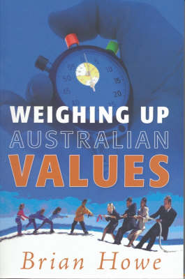 Weighing Up Australian Values book