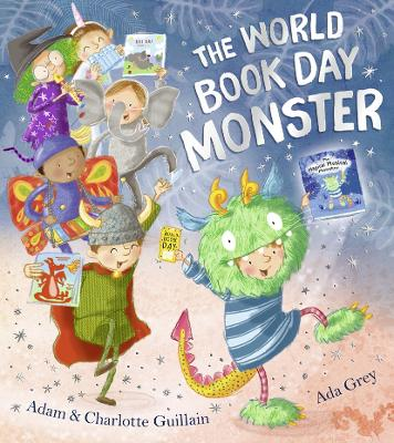 The World Book Day Monster by Adam Guillain
