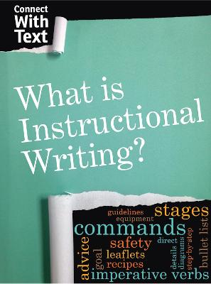What is Instructional Writing? by Charlotte Guillain