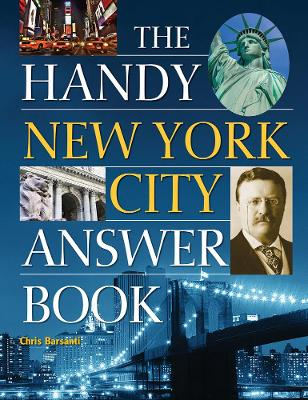 Handy New York City Answer Book by Chris Barsanti