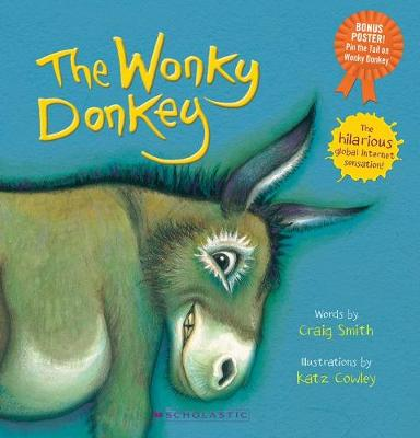 The Wonky Donkey: Pin the Tail on the Wonky Donkey book