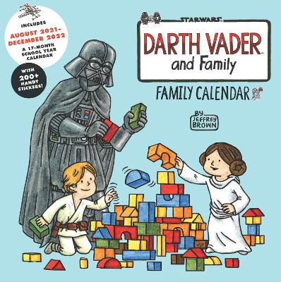 Star Wars Darth Vader and Family 2022 Wall Calendar by Jeffrey Brown
