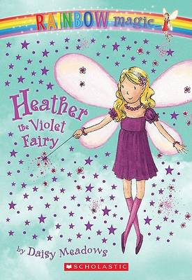 Heather the Violet Fairy by Daisy Meadows