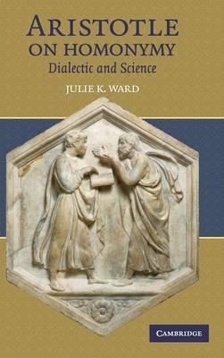 Aristotle on Homonymy book