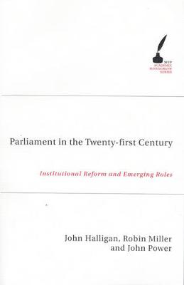 Parliament in the Twenty First Century book