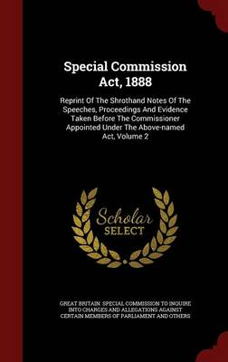 Special Commission ACT, 1888 by In-Q