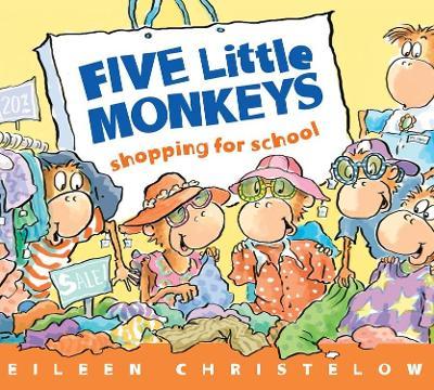 Five Little Monkeys Shopping for School book