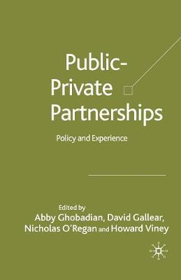 Private-Public Partnerships by Abby Ghobadian