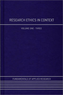 Research Ethics in Context by Julie Scott Jones