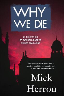 Why We Die book