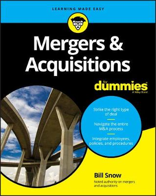 Mergers & Acquisitions For Dummies book