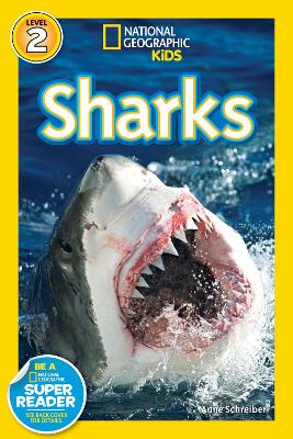 National Geographic Kids Readers: Sharks book