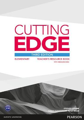 Cutting Edge 3rd Edition Elementary Teacher's Book with Teacher's Resources Disk Pack book