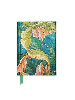 William Morris: Acanthus (Foiled Pocket Journal) by Flame Tree