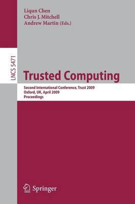 Trusted Computing by Liqun Chen