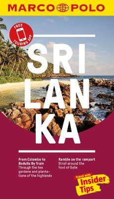 Sri Lanka Marco Polo Pocket Travel Guide 2018 - with pull out map by Marco Polo