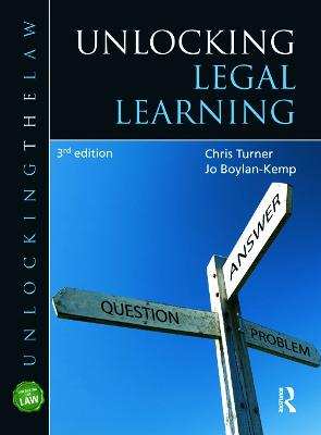 Unlocking Legal Learning by Chris Turner