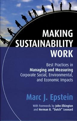 Making Sustainability Work book