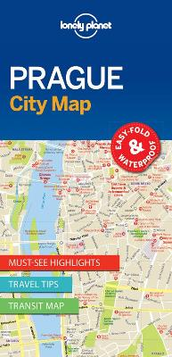 Lonely Planet Prague City Map by Lonely Planet