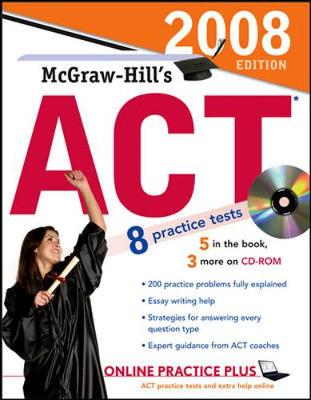 McGraw-Hill's ACT 2008 by Steven Dulan