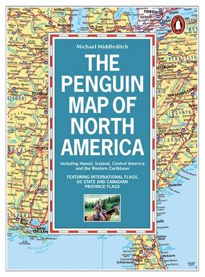 The Penguin Map of North America by Michael Middleditch