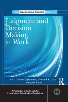 Judgment and Decision Making at Work book