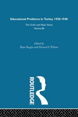 Educational Problems in Turkey by Ilhan Basgoz