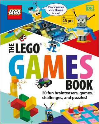 The LEGO Games Book: 50 Fun Brainteasers, Games, Challenges, and Puzzles! by Tori Kosara