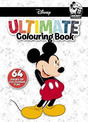Disney Mickey: Ultimate Colouring Book by