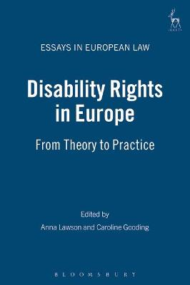 Disability Rights in Europe by Professor Anna Lawson