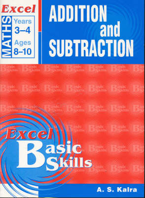 Maths Support Books: Addition & Subtraction: Years 3 & 4 by Pascal Press