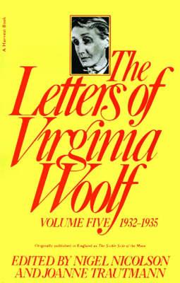 Letters of Virginia Woolf 1932-1935 by Nigel Nicolson