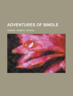 Adventures of Bindle by Herbert George Jenkins