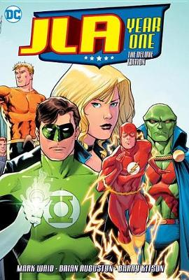 JLA Year One Deluxe HC book