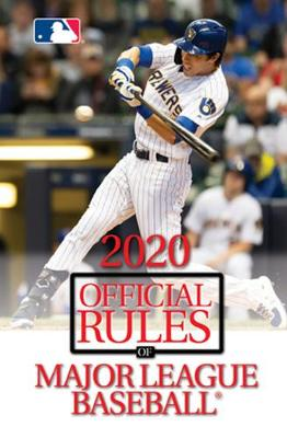 2020 Official Rules of Major League Baseball by Triumph Books