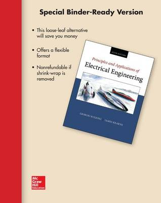 Loose Leaf for Principles and Applications of Electrical Engineering by Giorgio Rizzoni