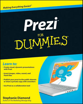 Prezi For Dummies by Stephanie Diamond