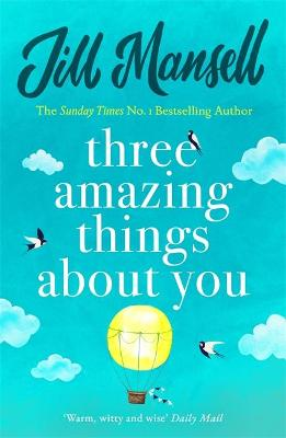 Three Amazing Things About You book